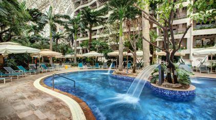 蓉城时代酒店公寓(成都会展店)1晚 可加购天堂岛海洋.