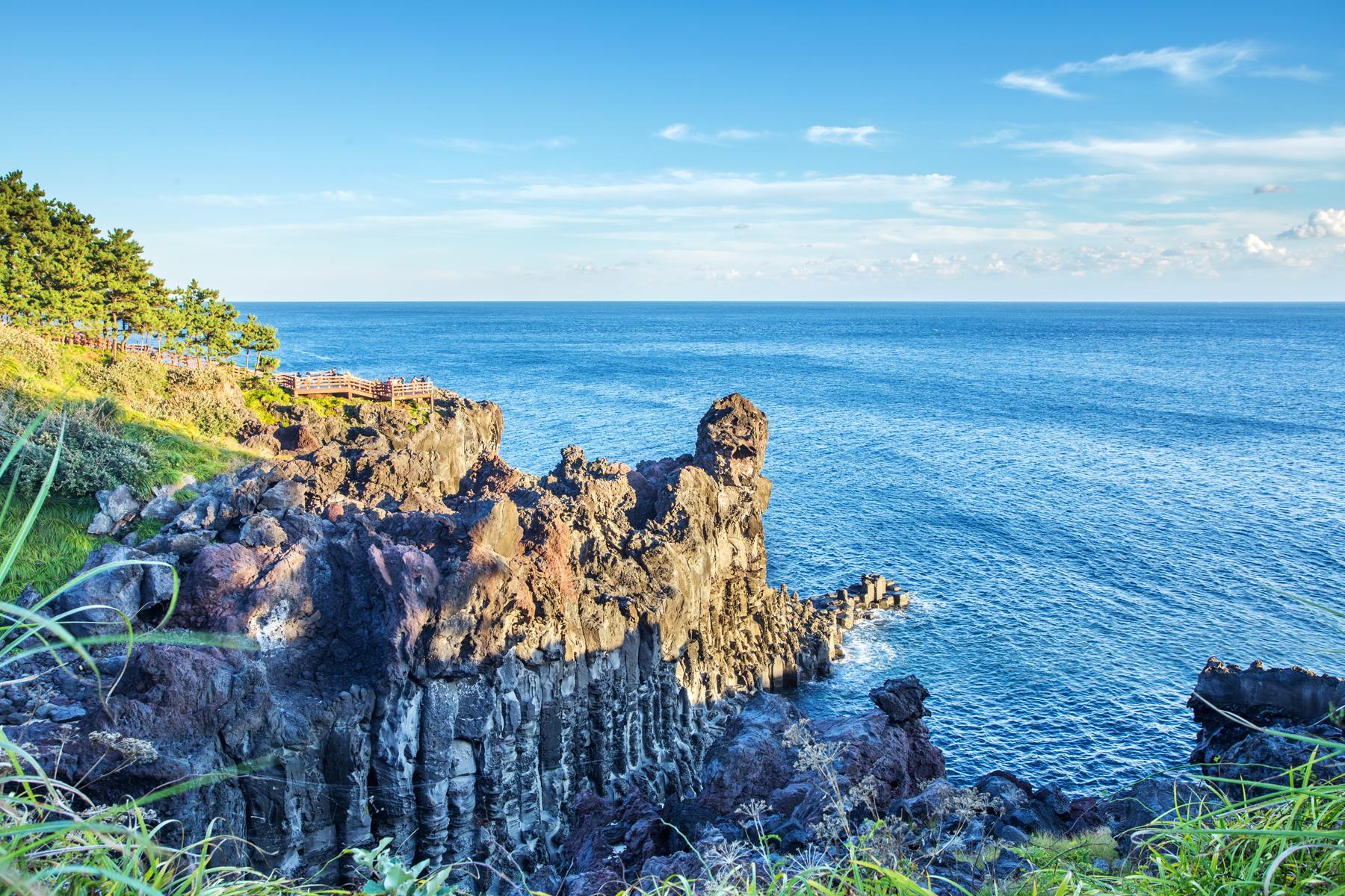 柱状节理带  Jungmun-Daepo Coast   -3