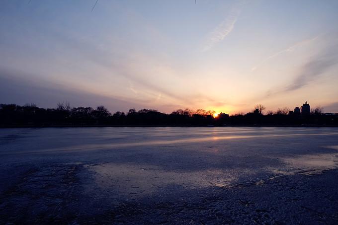 照片远没有亲眼所见的夕阳美丽