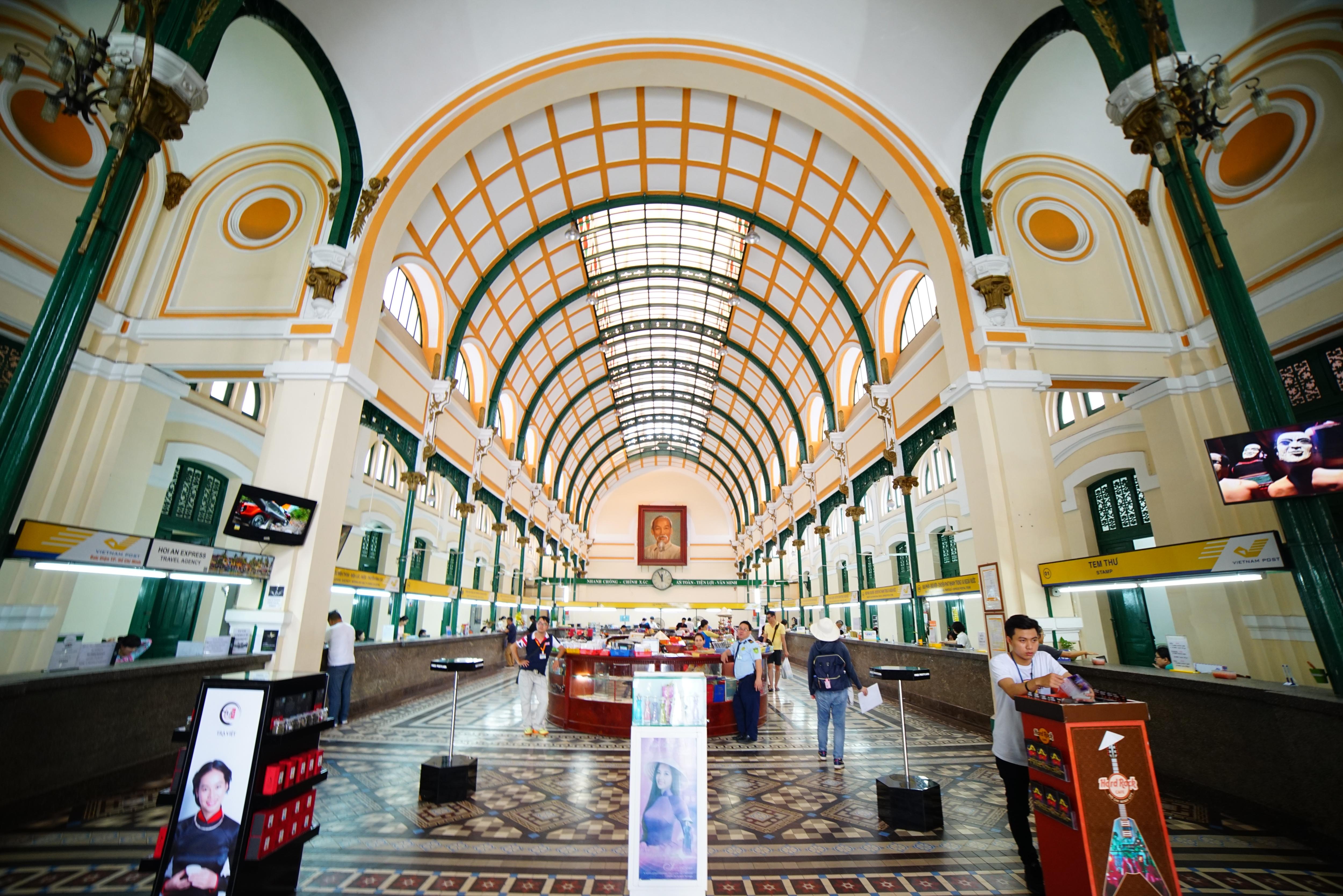 中央邮局  Central Post Office   -4