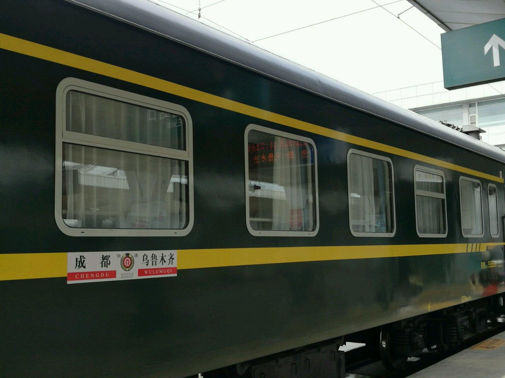新疆火车图片素材