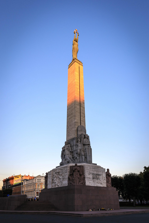 自由紀念碑  Brīvības Piemineklis   -0