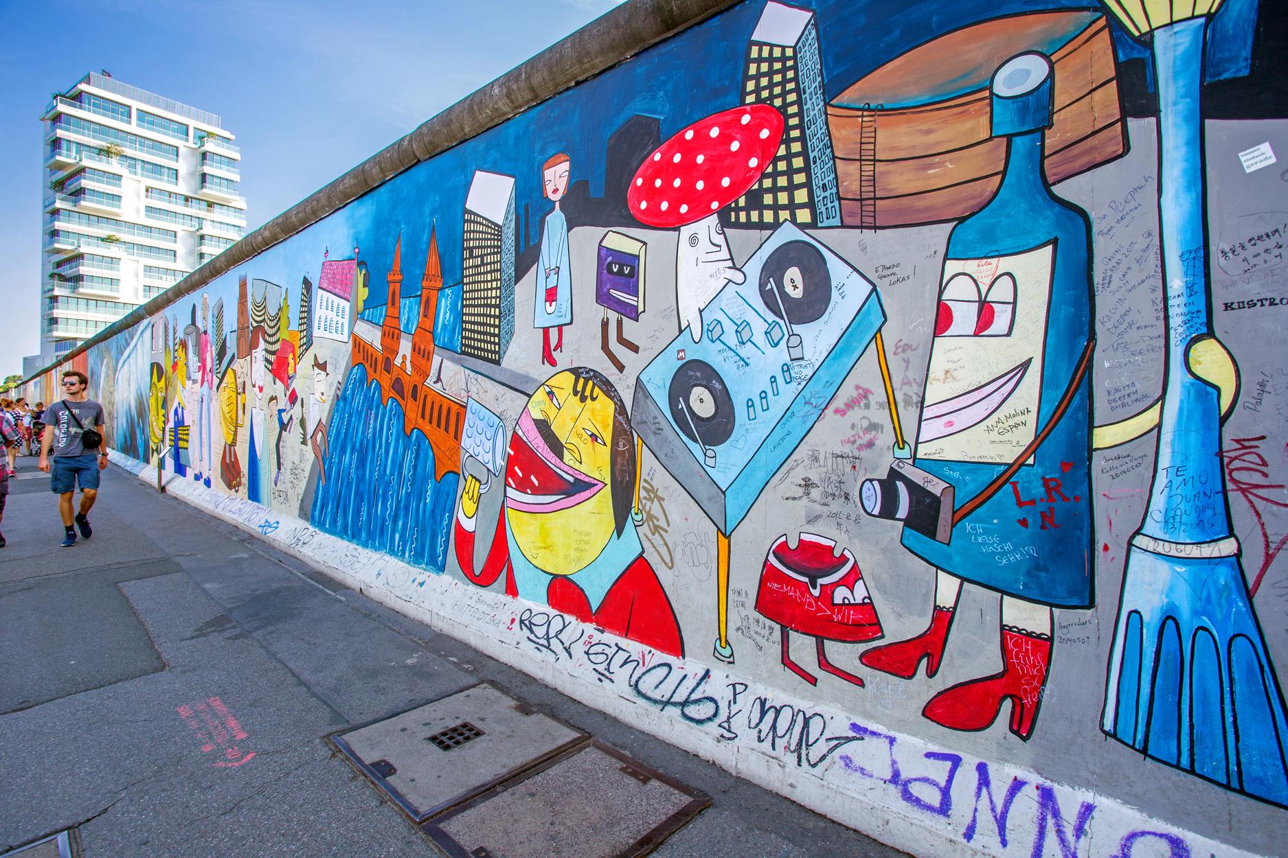 柏林墙遗址纪念公园  Berlin Wall Memorial   -1