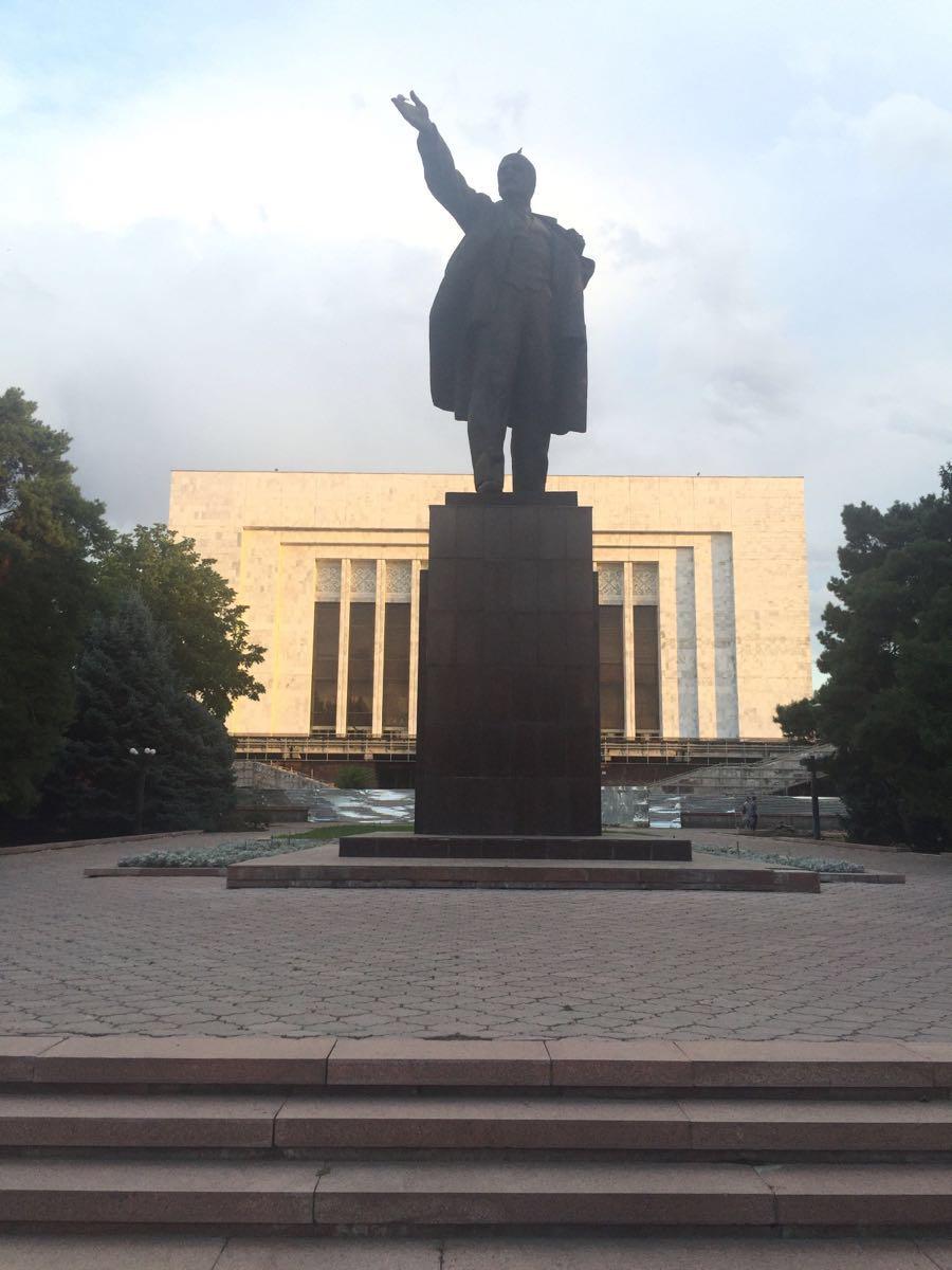 Monument to Baatyr Kaba Uulu Kozhomkul  Monument to Baatyr Kaba Uulu Kozhomkul   -2