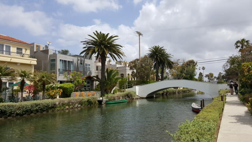 洛杉矶威尼斯河道小区
