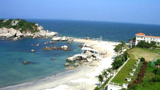 【携程攻略】惠州惠东巽寮湾磨子石码头到三角洲岛