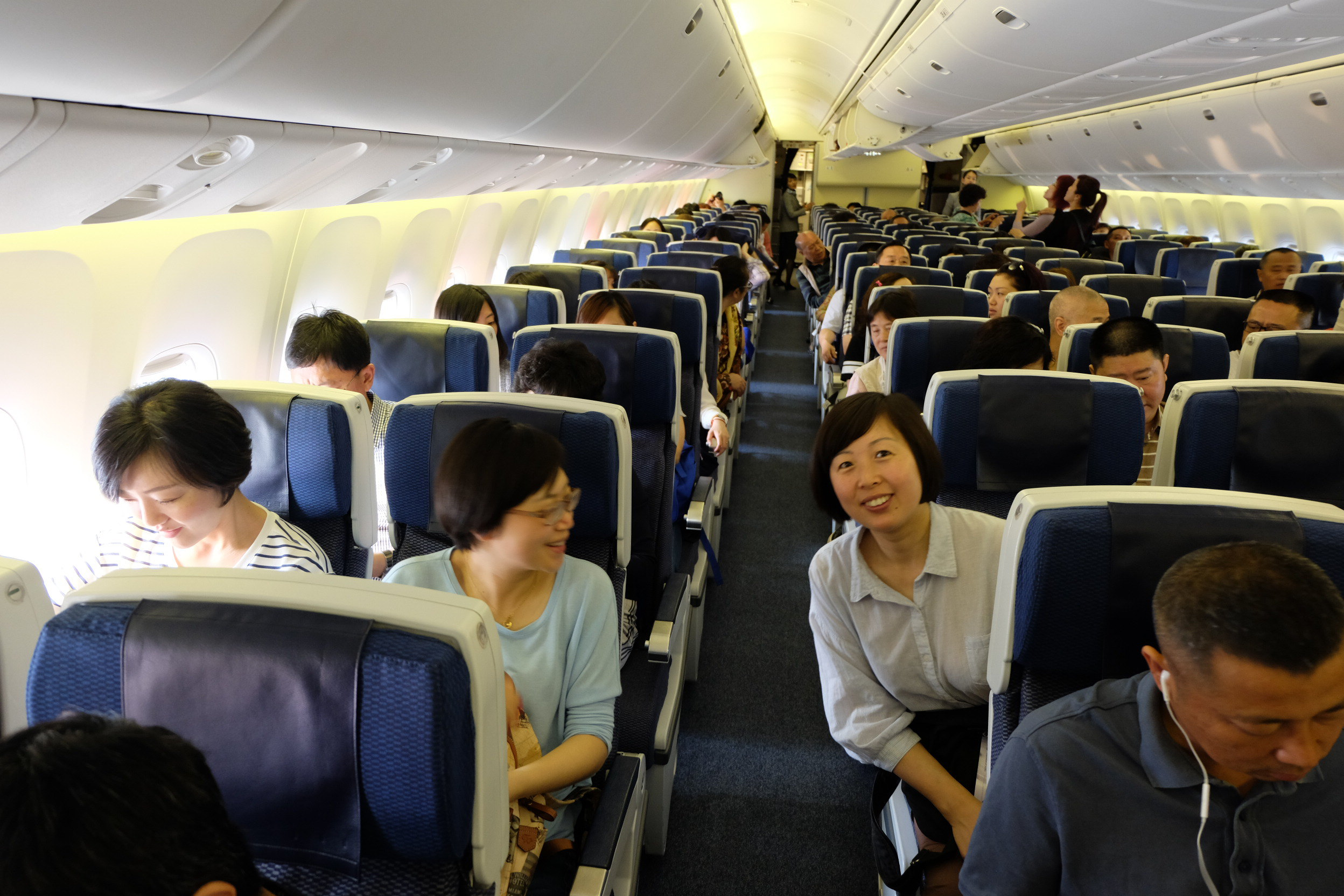 波音767—300双通道客机