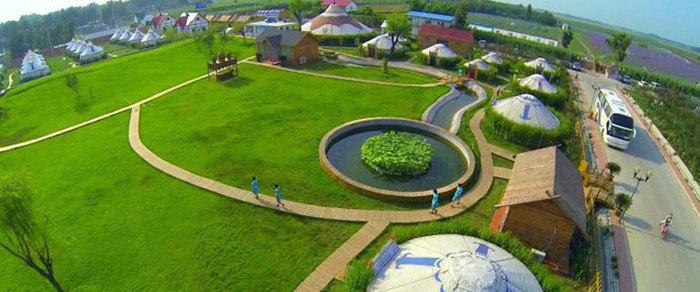 百元抢护照,永久后花园)现在只要有济南紫缘香草园