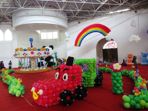 气球小汽车手工制作