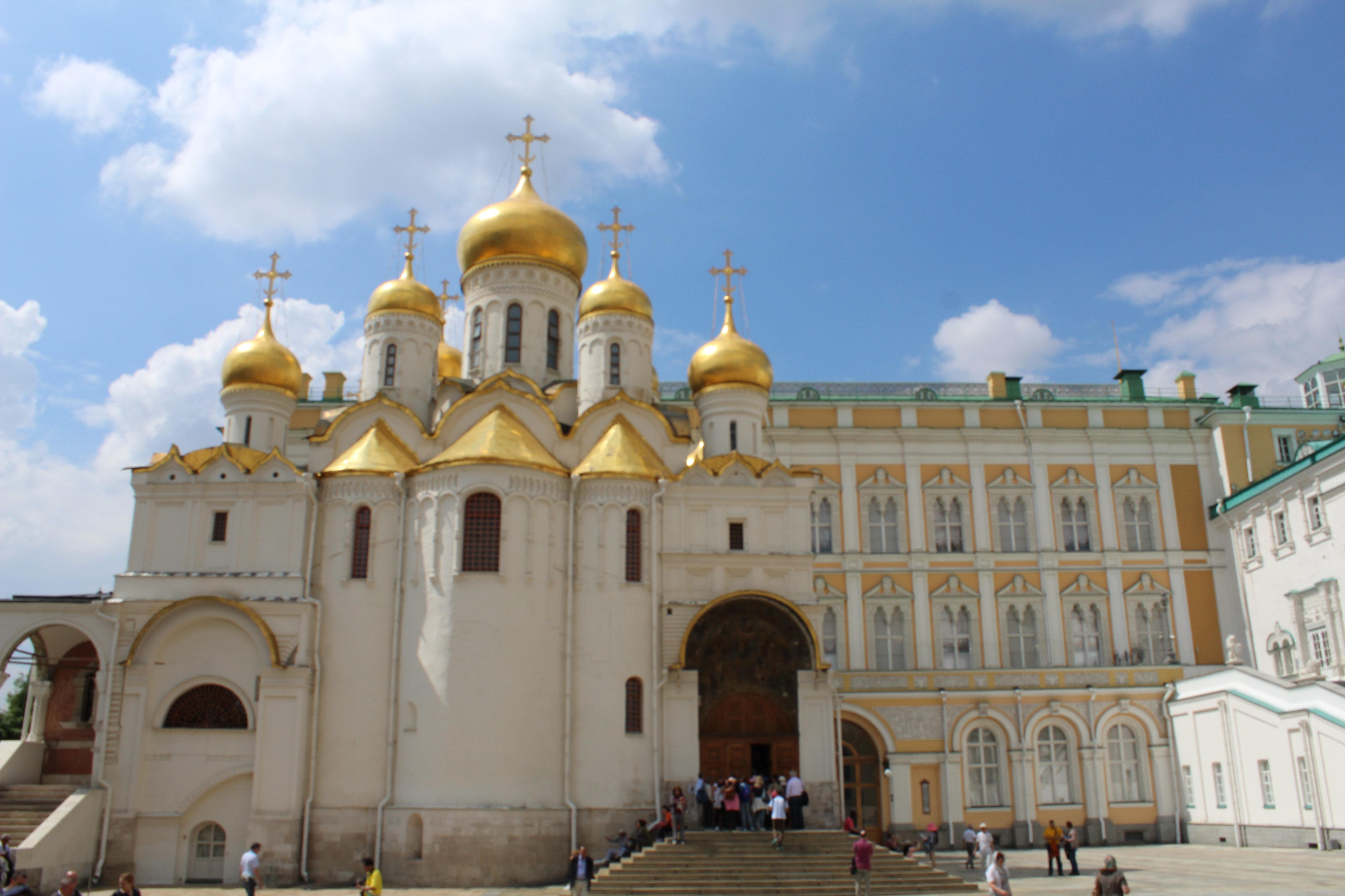 4个银顶的是战神大教堂, 克里姆林宫图片