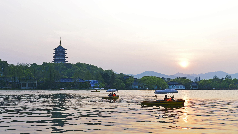 杭州西湖 雷峰塔 杭州灵隐(飞来峰)景区 西溪国家湿地