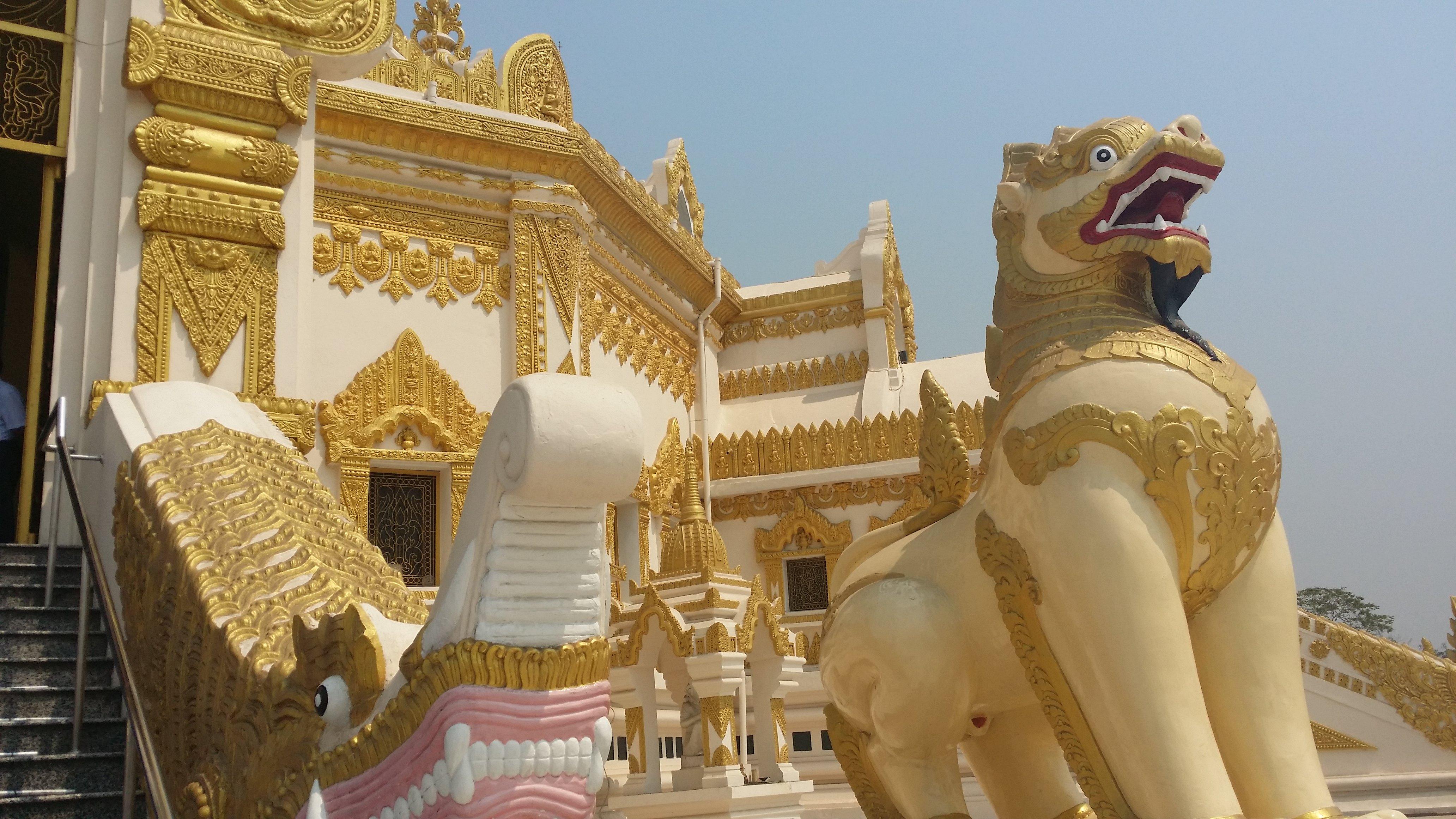 世界和平塔  Kabar Aye Pagoda   -1