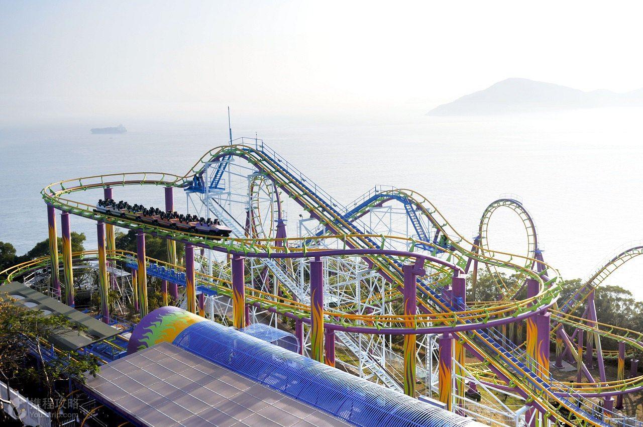 乐园游·香港+澳门6日5晚半自助游·海洋公园