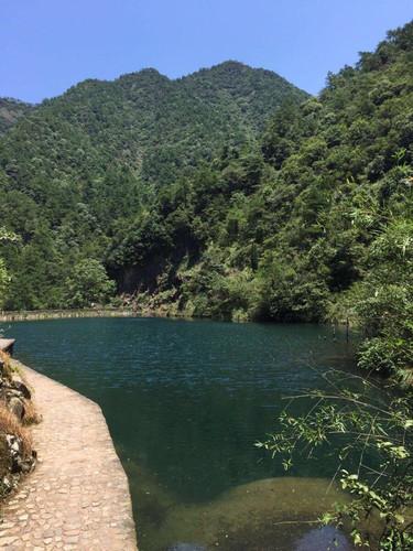 厦门大溪峡漂流+大奇山两日自驾游爬山攻略桐庐图片