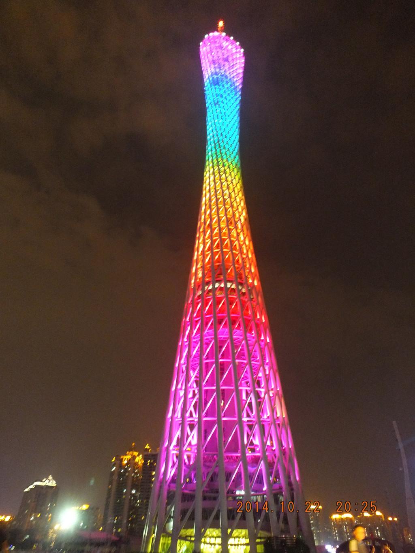 广州塔的手绘搞