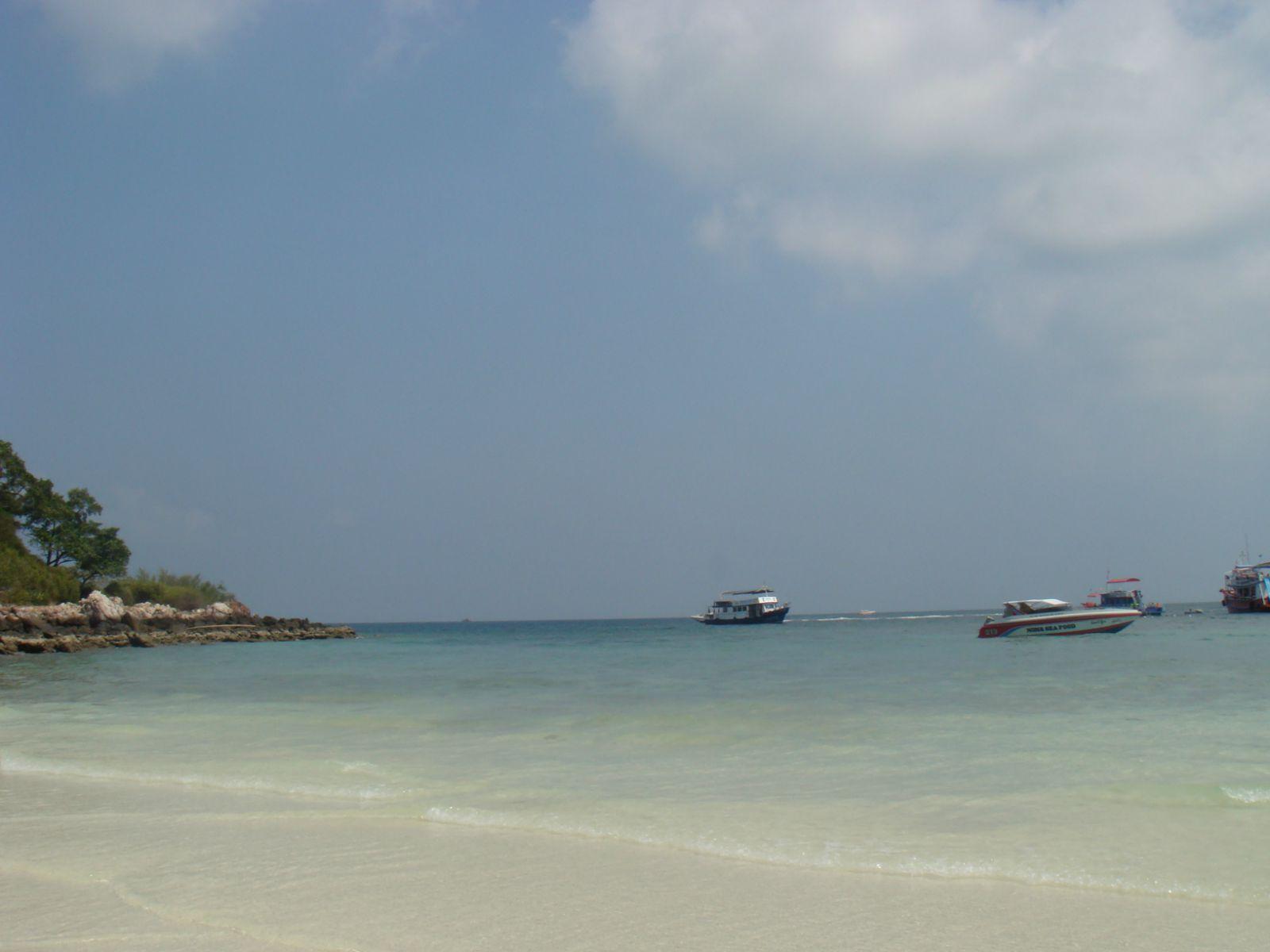 沙美岛是非常值得去的,海边度假的感觉.
