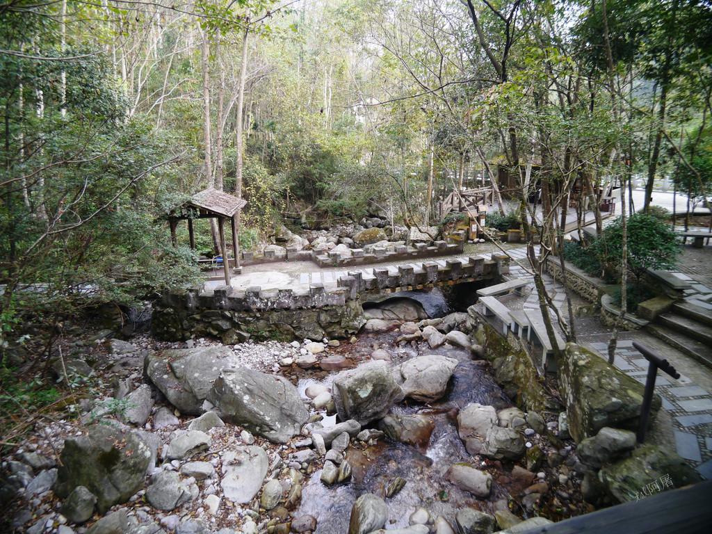 观音岩景区,地处三爪仑国家示范森林公园的中心地带,这里的原始森林遮
