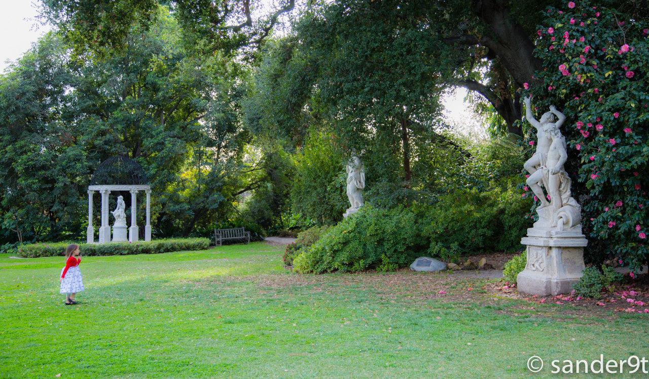 亨廷顿图书馆,艺术廊和植物园