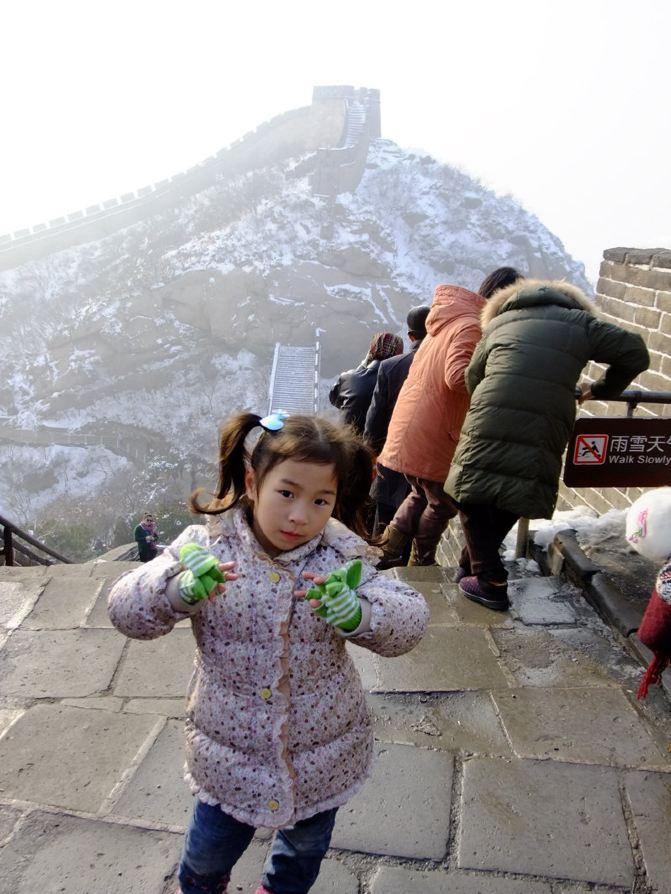 带着4岁半游记登泰山北京游北京城-长城女儿杭州v游记蚂蚁攻略图片
