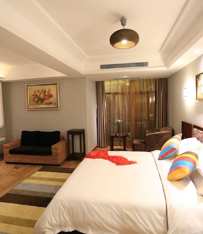 星星欧式酒店圆床