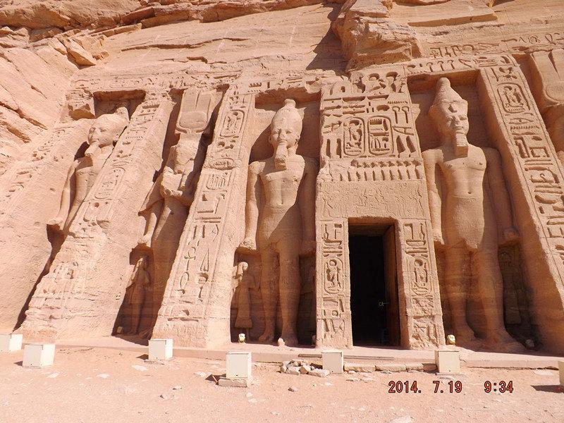哈索尔神庙  Temple of Hathor   -3