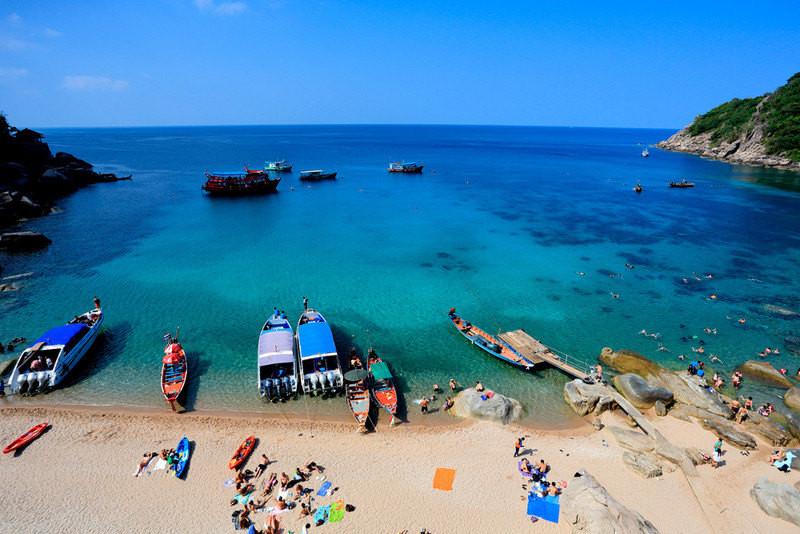 泰国的海边风情:芭提雅,沙美岛,苏梅岛