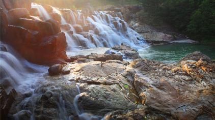 九龙谷景区-景观坝