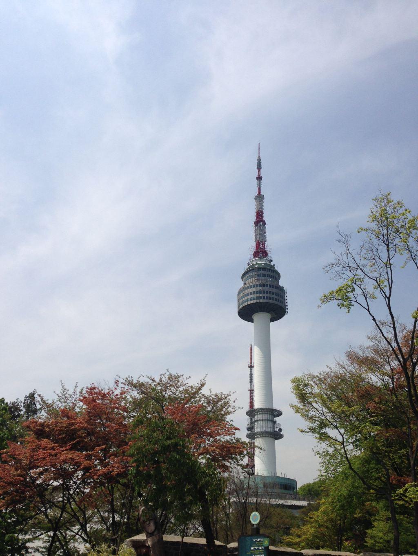 韩国-南山公园首尔塔