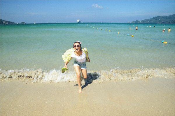 岛自由行(芭东海滩
