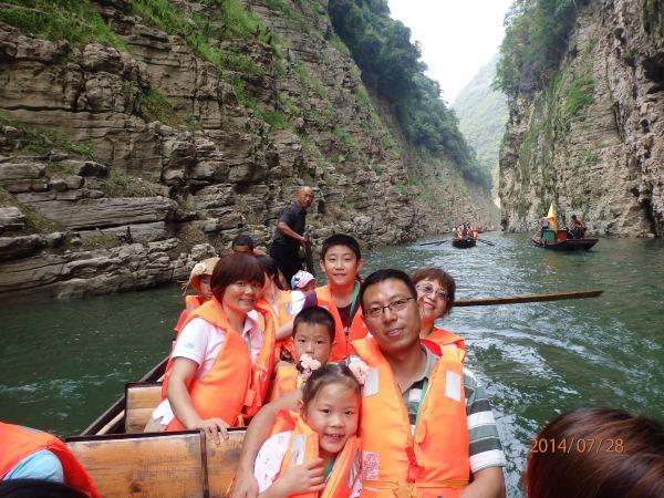 从宜昌到重庆,欣赏三峡风光;上歌乐山