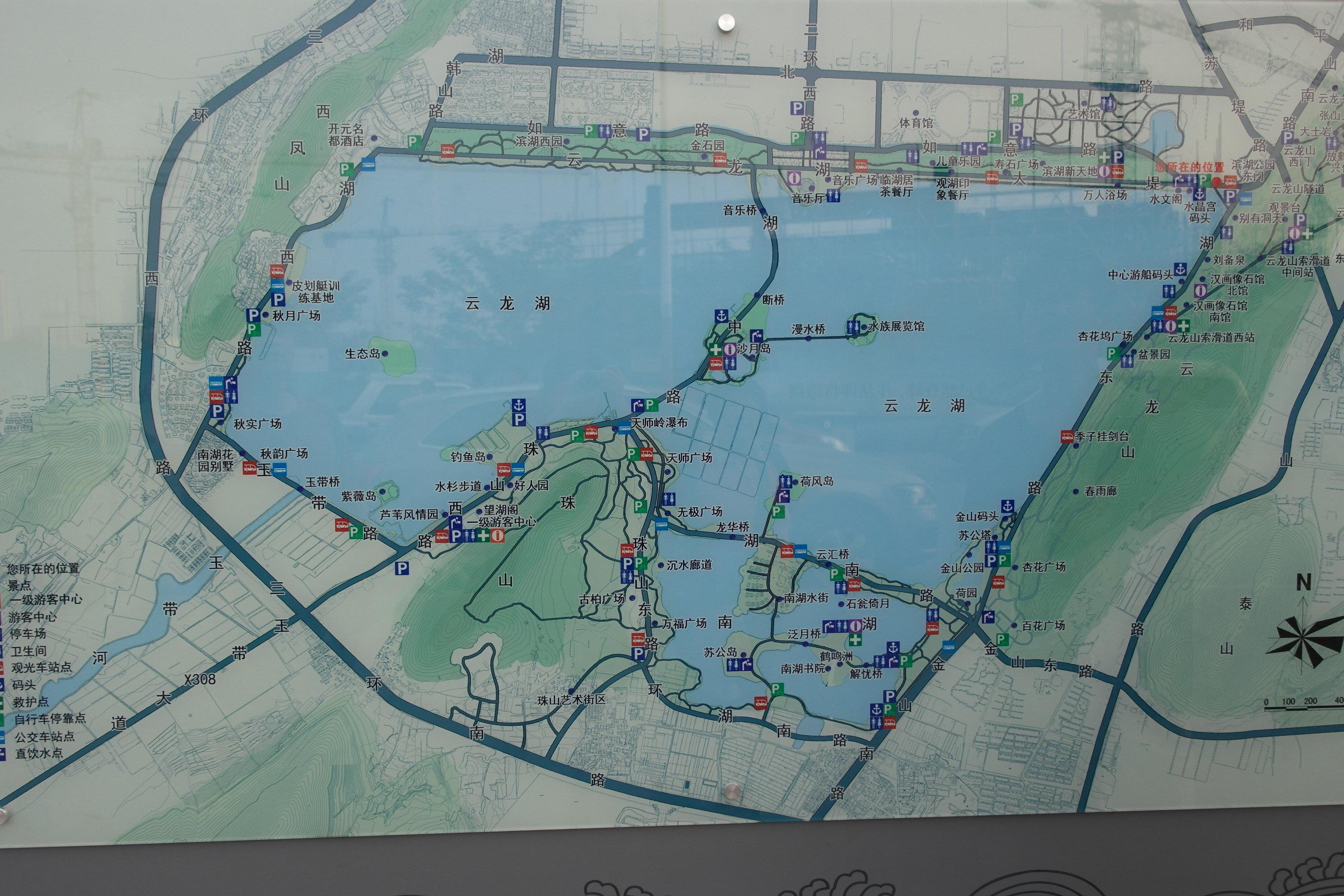 徐州美景小学生手绘地图