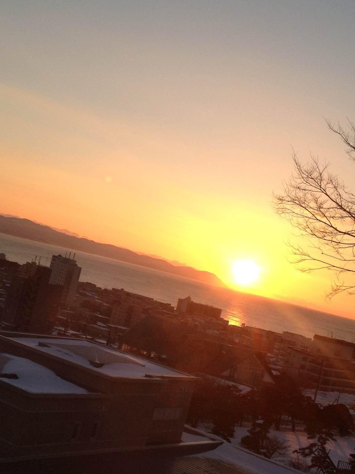 「北海道」やっと来たね また来るよ