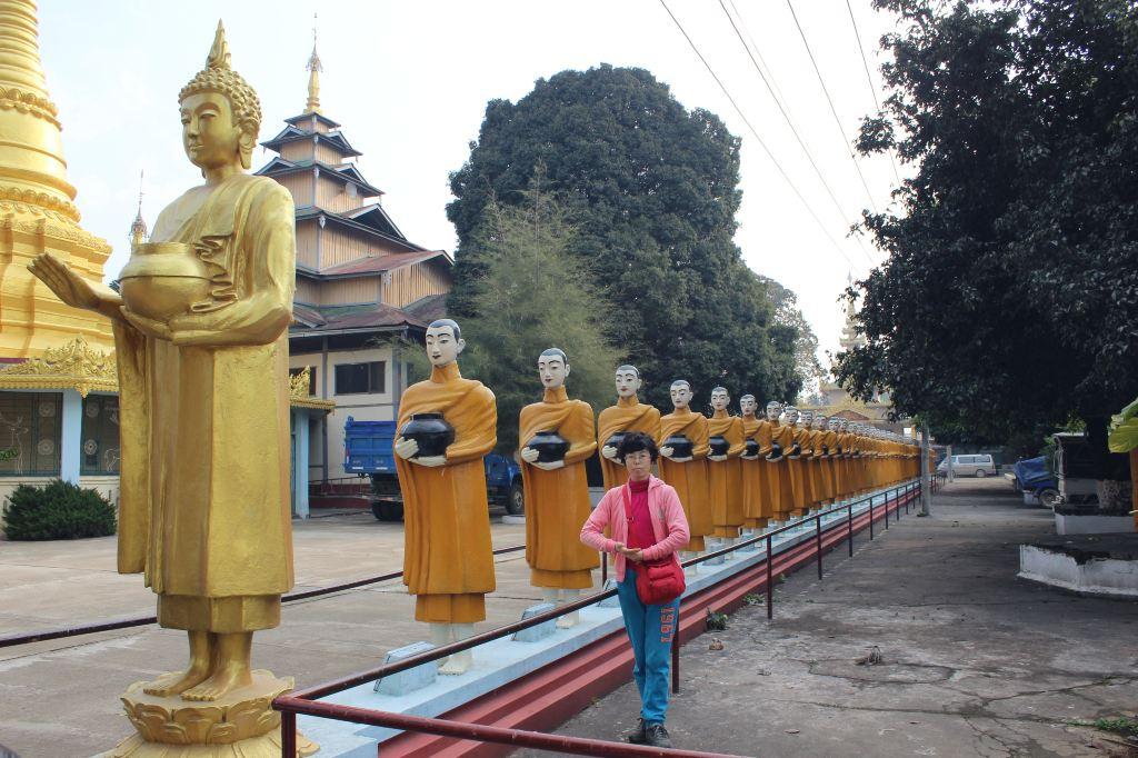 缅甸木姐金鹿寺