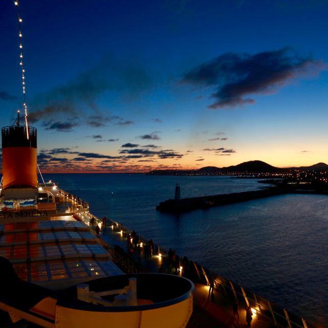 邮轮众生相——20151112歌诗达塞琳娜号5天4晚长崎济州邮轮游