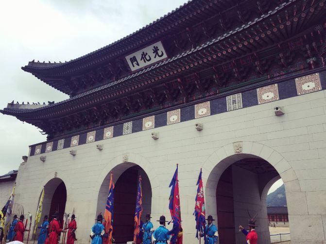 景福宫zhengmen简笔画