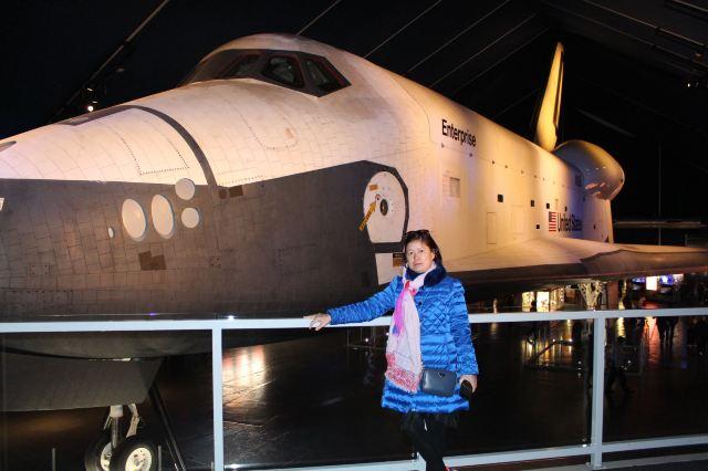 美国航天飞机是世界上第一种往返于地面和宇宙空间的可重复使用的
