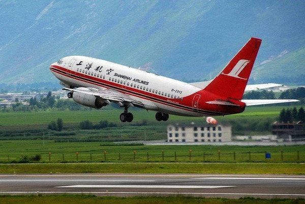 直达丽江的航班