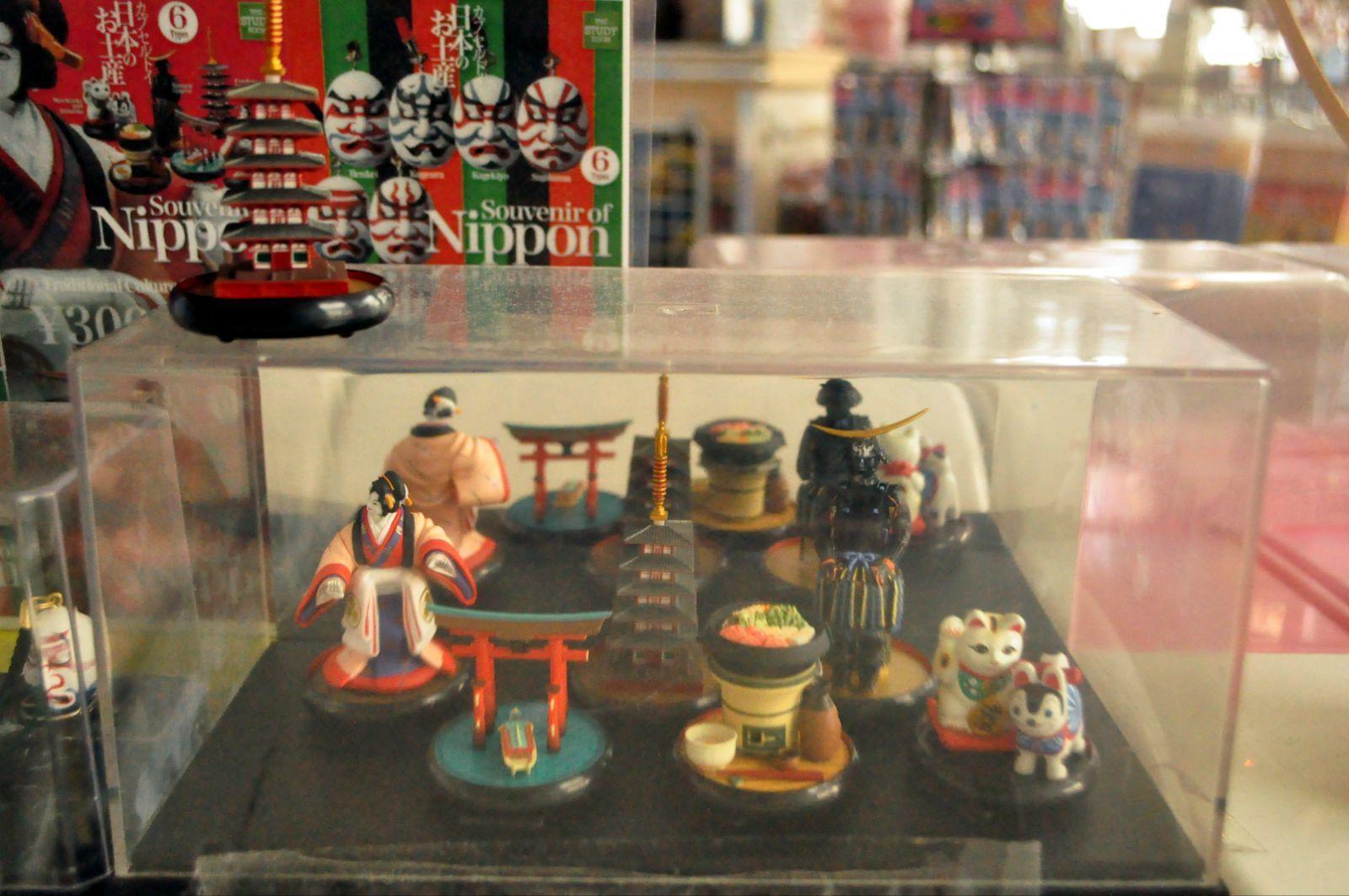 幸运地扭到了以奈良寺元兴寺五重塔为蓝本的模型