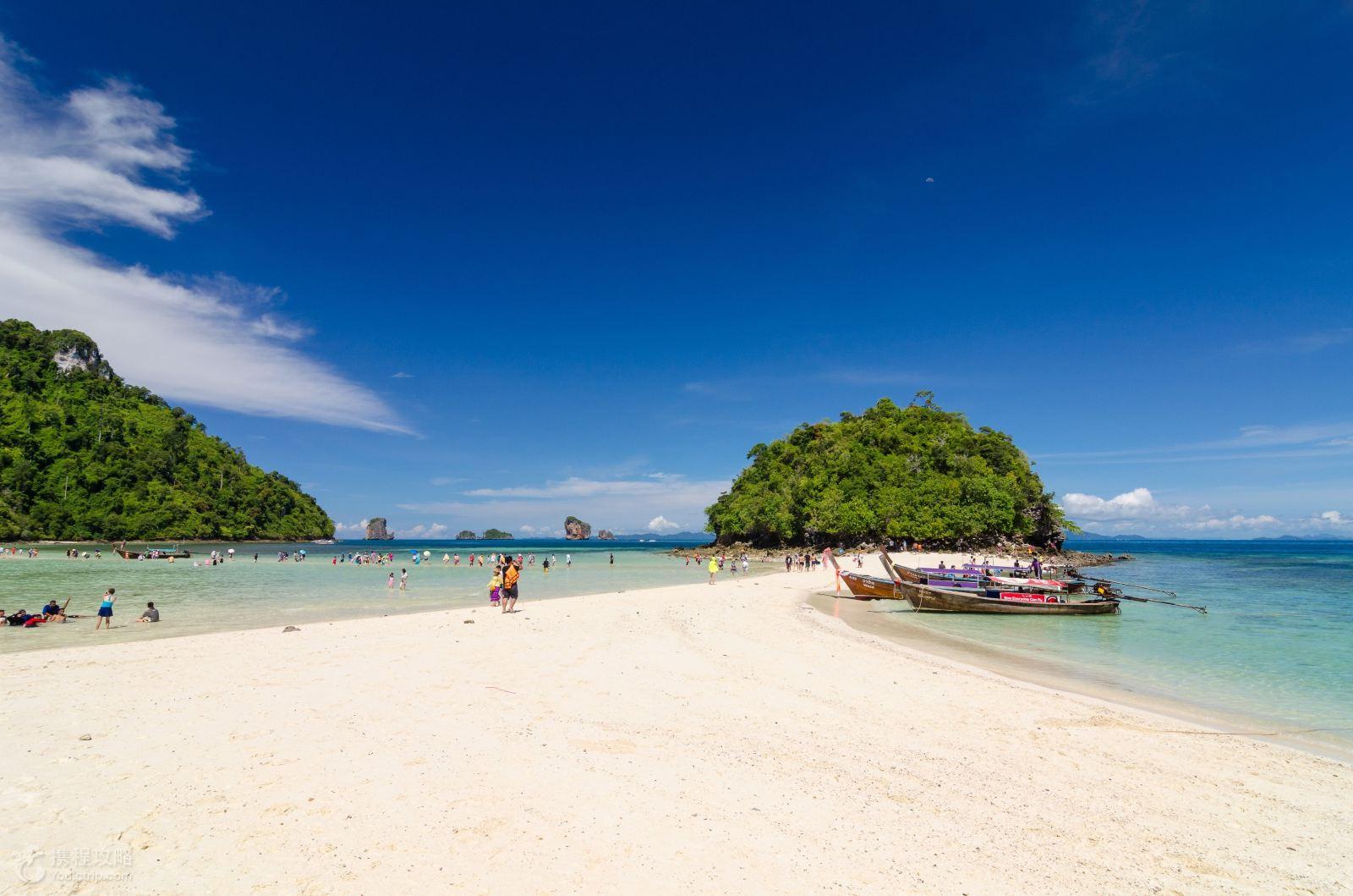 泰国普吉岛+甲米+皮皮岛6日4晚跟团游·甲米神奇4岛