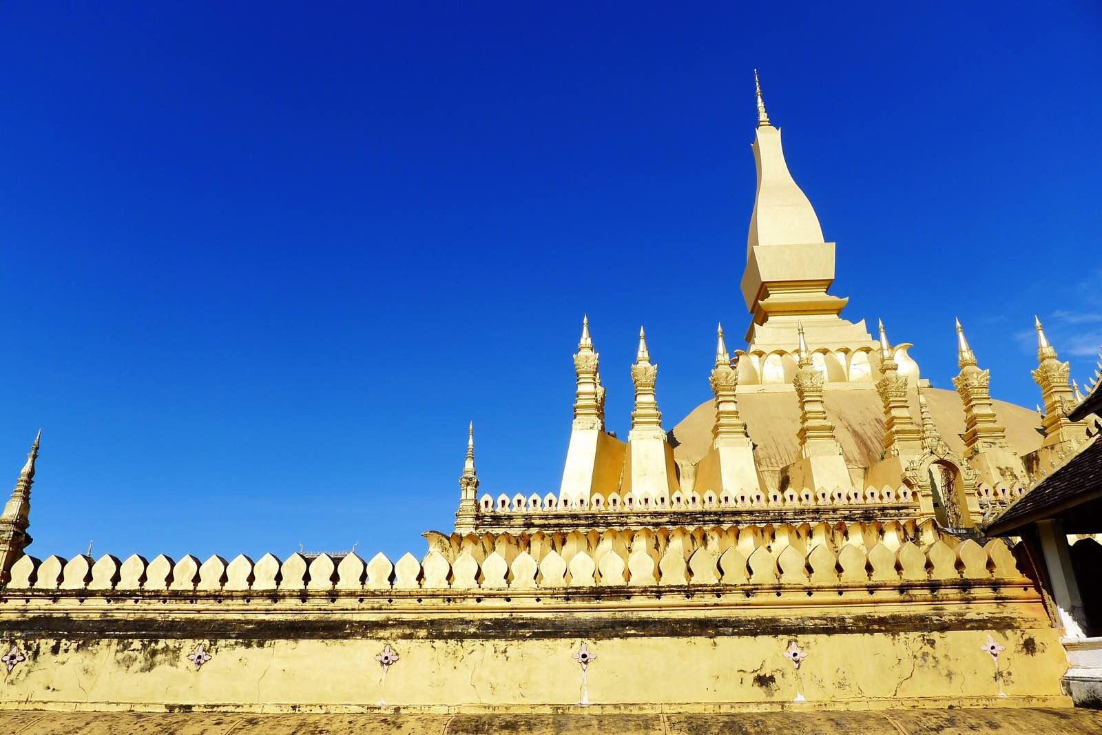 老挝塔銮湖图片