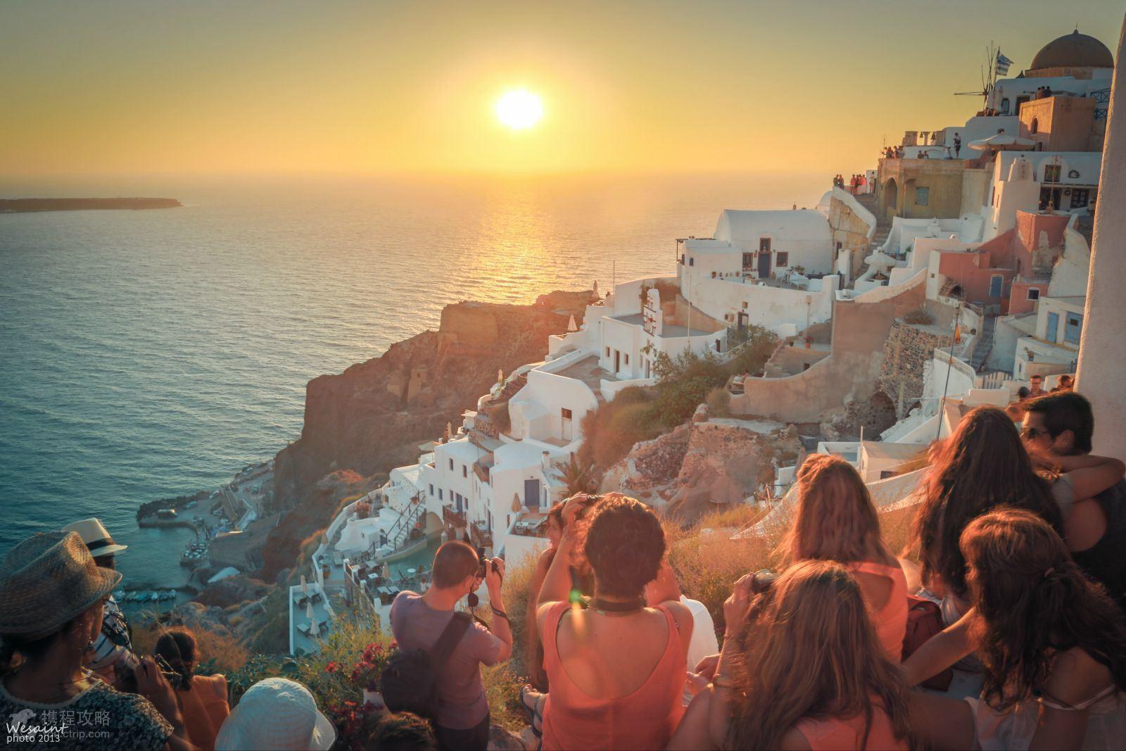 参观世界七大奇迹之一:雅典卫城,巴特农神庙 ♥圣托里尼岛入住2