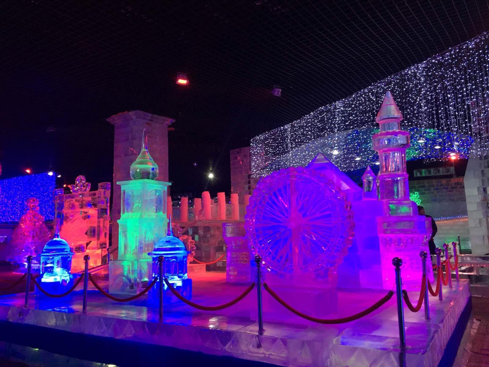 来哈尔滨没见到冰雪大世界…但是想想也是很多感恩的