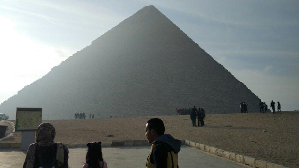 最高的胡夫金字塔