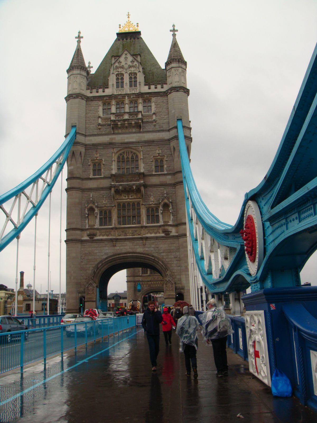 伦敦塔 塔桥博物馆里有蒸汽动力演示