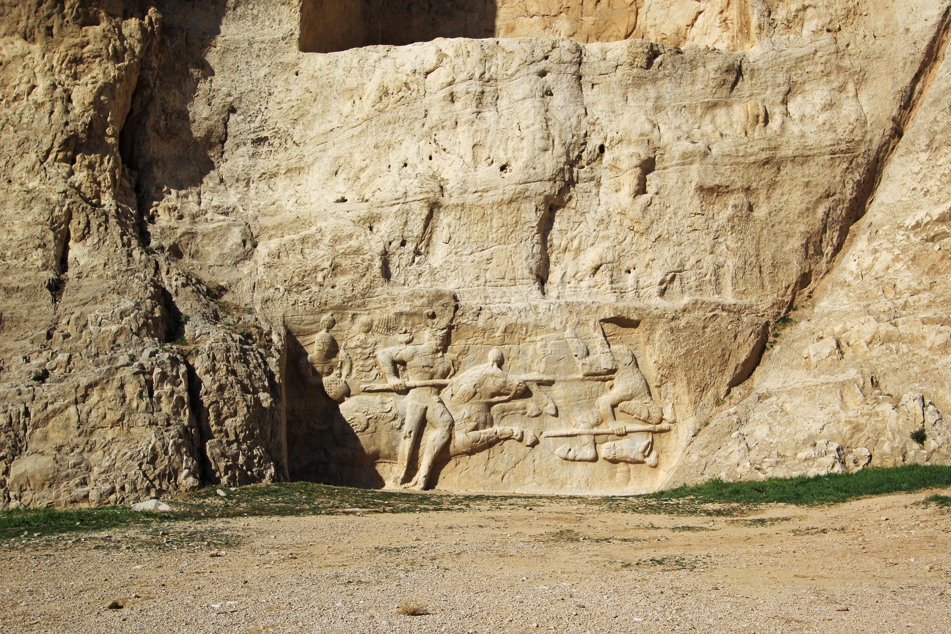 波斯帝陵和薩珊浮雕  Naqsh-e Rostam   -2