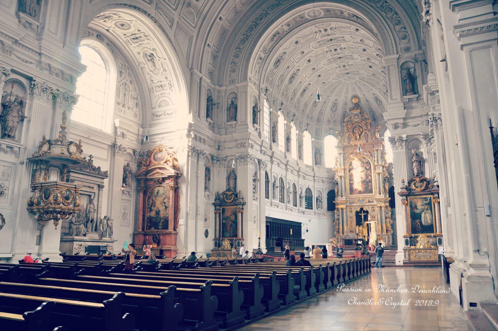 特埃蒂娜教堂  Theatinerkirche St. Kajetan   -4
