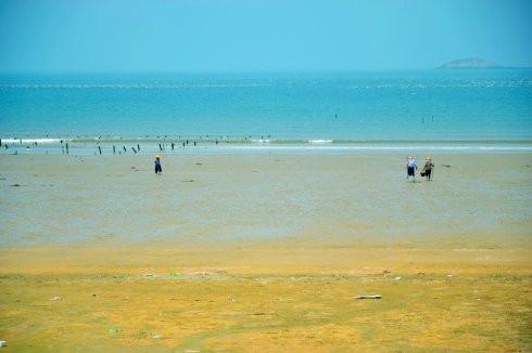 彩海边风景画简单_壁纸 风景 摄影 桌面 490_326