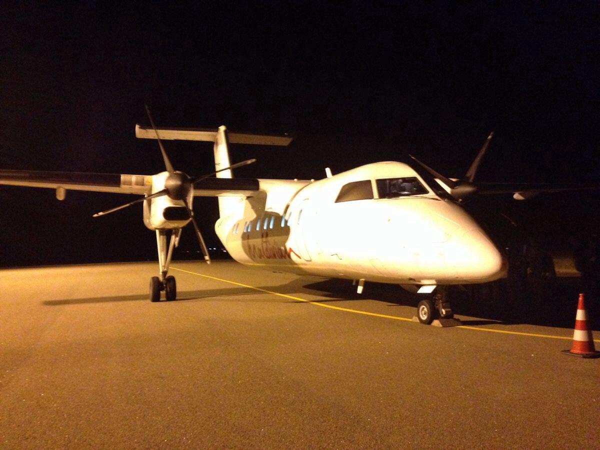 乘坐内陆飞机前往马累国际机场
