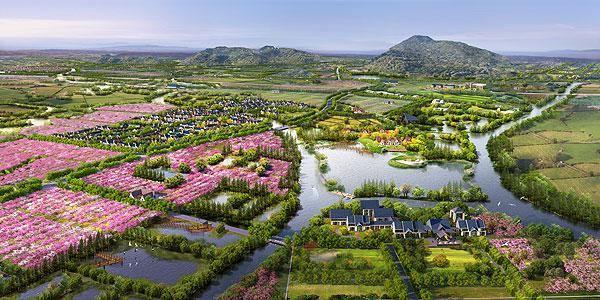 感受慢节奏的田园生活,成为现代人的梦里桃花源,都市人和农村人,共同