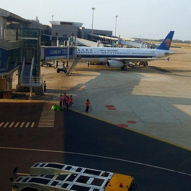 这架就是我回上海的飞机